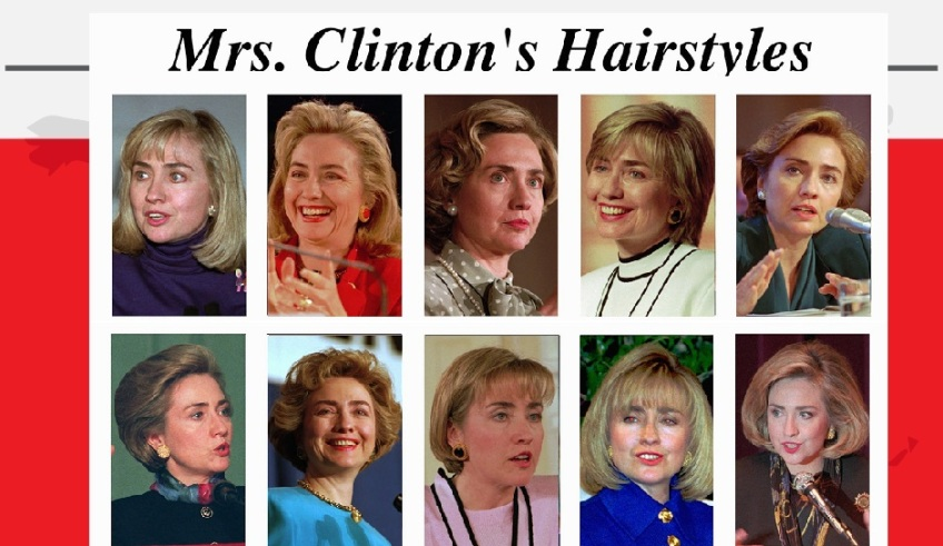 Hillary Clinton Hairstyles Nerd Thoughts Blog